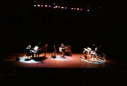 Maclain jazz trio en concert