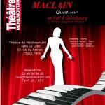 Concert du Quatuor Maclain théâtre de ménilmontant